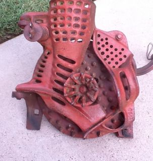 RARE David Bradley Antique Wood Hand Crank Corn Sheller