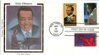 Colorano Silk 2211 Jazz Great Duke Ellington with Scott Joplin WC