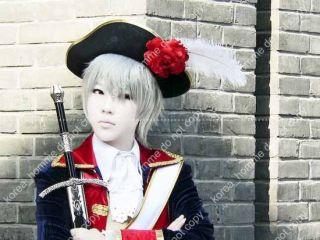 APH Axis Powers Hetalia Cosplay Wig Costume Prussia V1