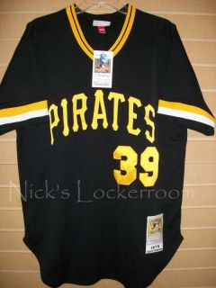 Mitchell & Ness 79 Pittsburgh Pirates Dave Parker Throwback Jersey 48