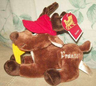 Dan Dee Plush Prancer Reindeer 8 Rudolph Red Nose CVS Sof Suffed