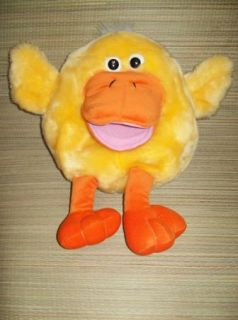 Dan Dee Round Duck Chick Plush Stuffed Animal Quack 15