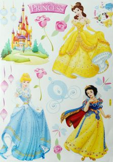 Decorative Cinderella Wall Sticker Decal Sticker Princess Wall Deco