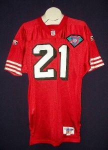 Deion Sanders Signed San Francisco 49ers 1994 Wilson Jersey