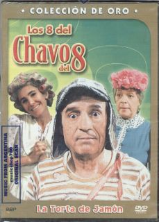 DVD Los 8 Del Chavo Del 8 La Torta de Jamon SEALED New