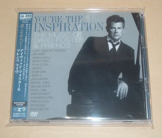 David Foster Youre The Inspiration The Music of Japan Promo CD DVD