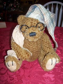 Dan Dee Collectors Choice Teddy Bear with Glasses