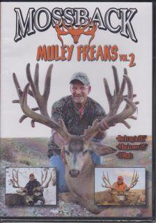 Mossback Muley Freaks vol 2 ~ Mule Deer Hunting DVD Big Bucks