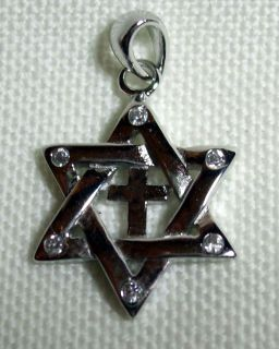 Messianic Christian Jewish Star of David Cross CZS