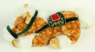 DanDee Dan Dee Plush Christmas Holiday Pony Horse Stuffed Lovey Toy