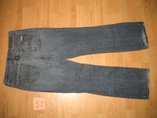David Kahn Womens Misses Sz 8 Lauren Mid Rise Bootcut Stretch Jeans