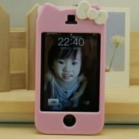Pink Hello Kitty Hard Case Cover Skin for iPhone 3GS 3G
