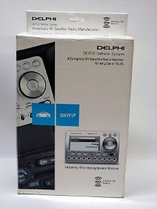 Delphi SKYFI2 Complete XM Satellite Radio Vehicle System