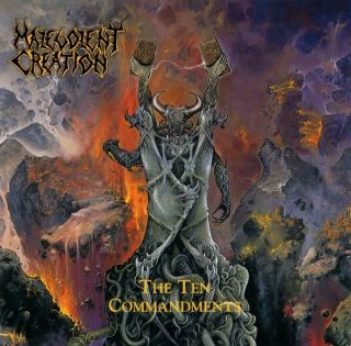 CREATION The Ten Commandments CD 1991 Roadrunner Monstrosity Deicide
