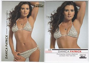 Danica Patrick 2009 Sports Illustrated Swimsuit Card DP8 Short Printed