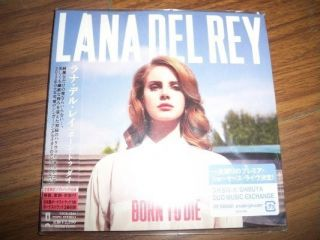 Lana Del Rey Born to Die 4BOUNS Japan Ed Mini LP CD OBI SEALED W809