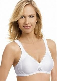 Playtex CYH 4175 Satin Side Shaping Bra 38B White New