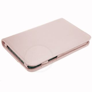 Pink Executive Genuine Leather Case for Dell Streak 7
