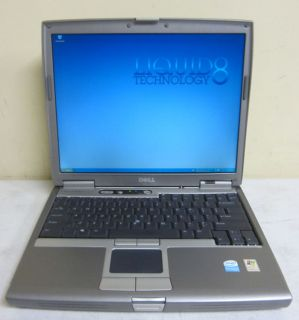 Dell Latitude D610 Pentium M 740 1 73GHz 512MB 80GB XP Home Laptop