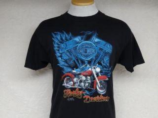 Vtg 1992 Harley Davidson Sturgis T Shirt 3D Emblem M