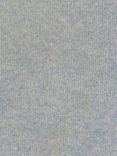 Daniel Bishop Baby Blue Solid 100% Cashmere V Neck Pullover Sweater
