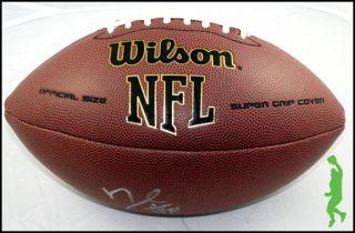 DEMARCUS WARE SIGNED AUTO WILSON NFL FOOTBALL DALLAS COWBOYS COA