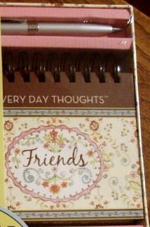 Dena Designs Undated Calendar Journal Gift Set w Pen New Seasons 2008
