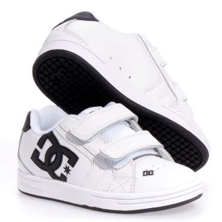 DC Shoes Net V SE Suede Skate Boy Girls Kids Shoes Sz 12