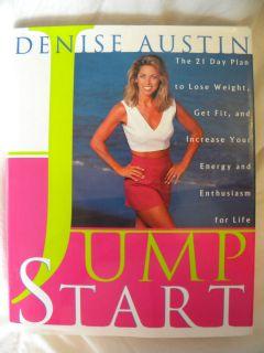 Denise Austin Jump Start 1996 Signed 1st Edition