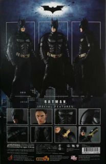 New Hot Toys 12 MMS71 Batman The Dark Knight Version 1 6 Gauntlet x 2