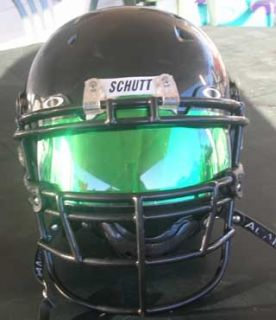 Green Mirror Football Eyeshield Visor Insert for Oakley