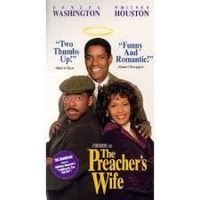 THE PREACHERS WIFE 1997 PG VHS DENZEL WASHINGTON WHITNEY HOUSTON