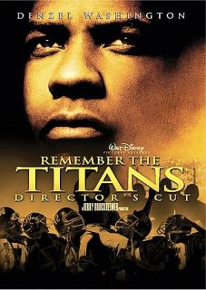 the Titans (Directors Cut), DVD, Denzel Washington, Will Patton, Wood