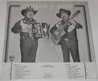 CARLOS Y JOSE   LA HIJA DEL PENAL   SEALED LP norteño