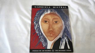 Poemas de Las Madres by Gabriela Mistral Mothers Poems 0910055297