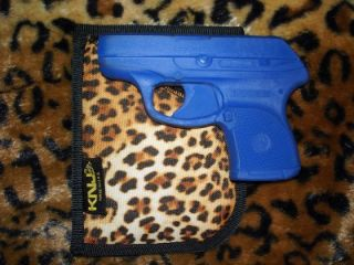 Leopard Print Pocket Purse Holster for Ruger LCP 380