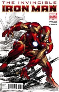 the invincible iron man 508 deodato variant nm condition individually