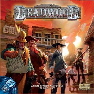 Fantasy Flight Games Deadwood Board Game Brand New SEALED