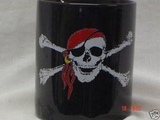 Jolly Roger Coffee Mug Cup Gift Collectable Harley Davi
