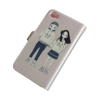 Lovers Design Cute 3D Boys Leather Wallet Book Flip Skin Case for