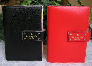 Kate Spade Wellesley Deborah 2013 Large Leather Planner Organizer
