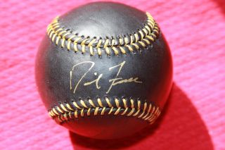 David Freese Autographed Rawlings Black Baseball St Louis Cardinals