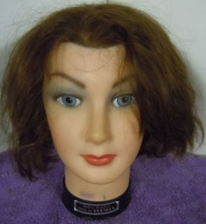 Debra Manikin by Burmax D804 Mannequin Cosmetology Head 100 Human Hair