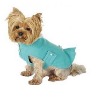 Maxs Closet Pet Dog Clothing Designer Dog Coat Yorkie Poodle XS M