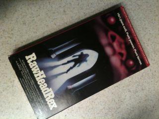 Rawhead Rex VHS David Dukes, Kelly Piper; Clive Barker