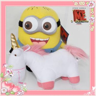 Despicable Me Minions Unicorn Agnes 5X Plush Toy Stuffed Animal Doll