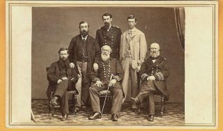 War US Navy Officers Possibly Admiral David Dixon Porer Family