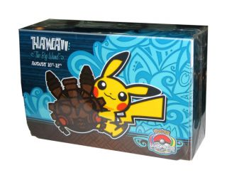 TCG World Championships Double Deck Box 2012 Big Island Hawaii Pikachu