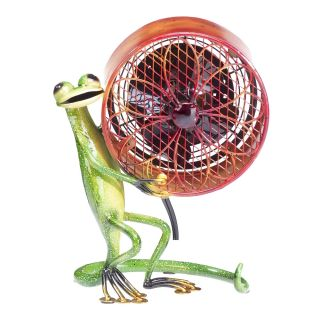 deco breeze gecko fan is a fun functional unique product for your home