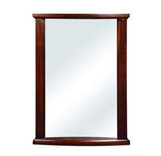 DecoLav 9715 MMG Mahogany Olivia 24 Rectangular Wall Mirror with